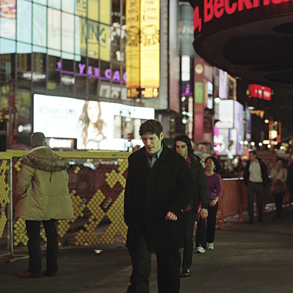Times Square Series: In His Own World (Photo by Chad Gayle))