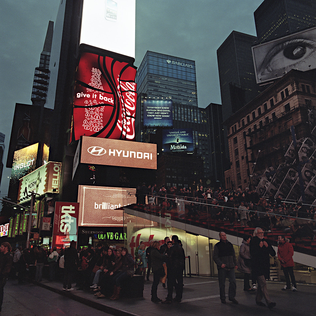 Times Square Series: The Gathering (Photo by Chad Gayle)