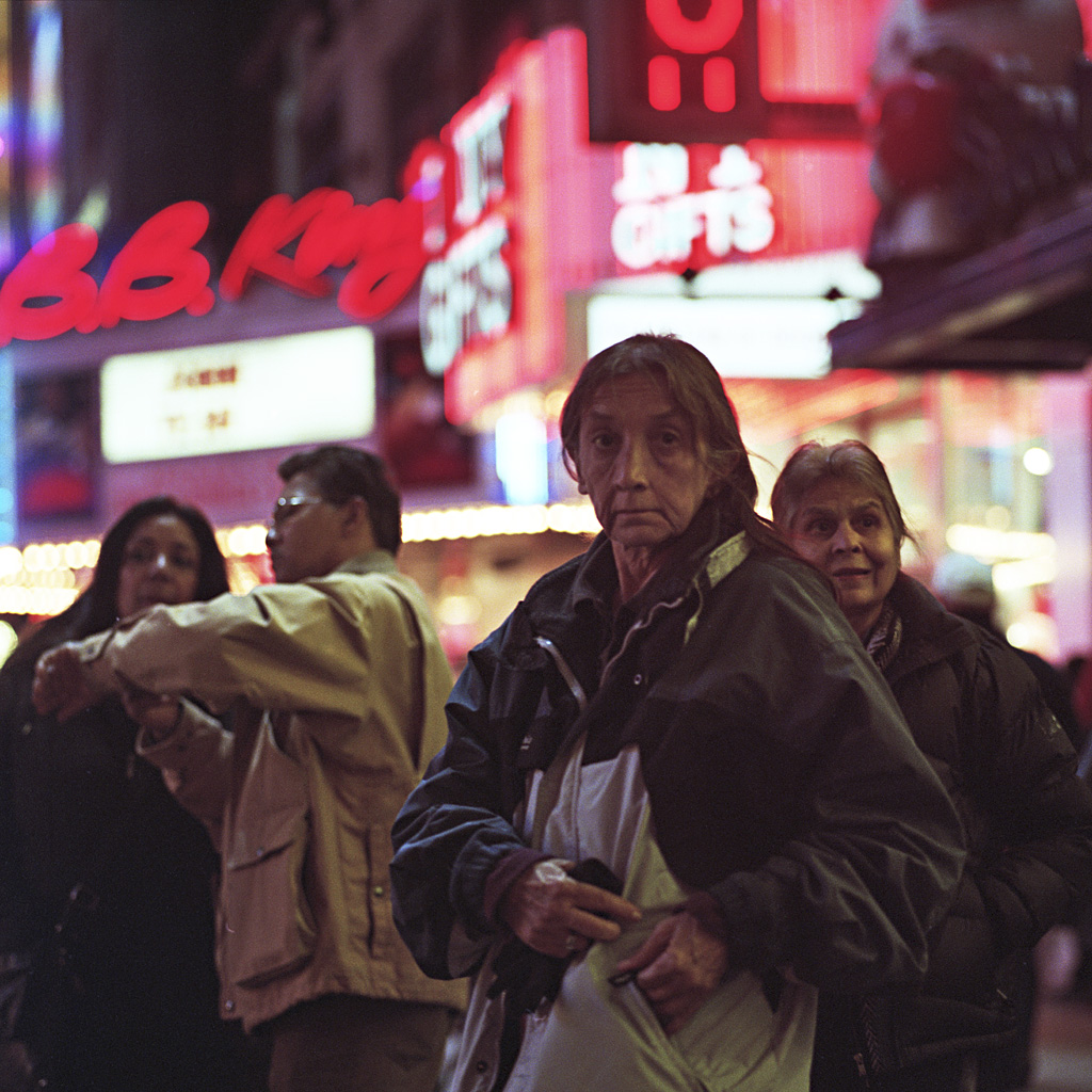 Times Square Series: The Nomads (Photo by Chad Gayle)