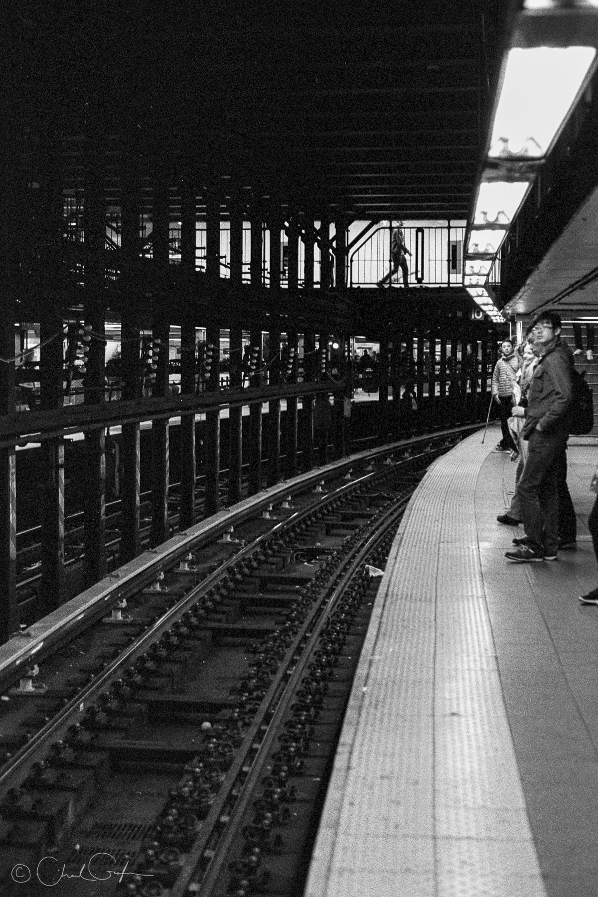 Waiting on a Train at Union Station (Image by Chad Gayle)