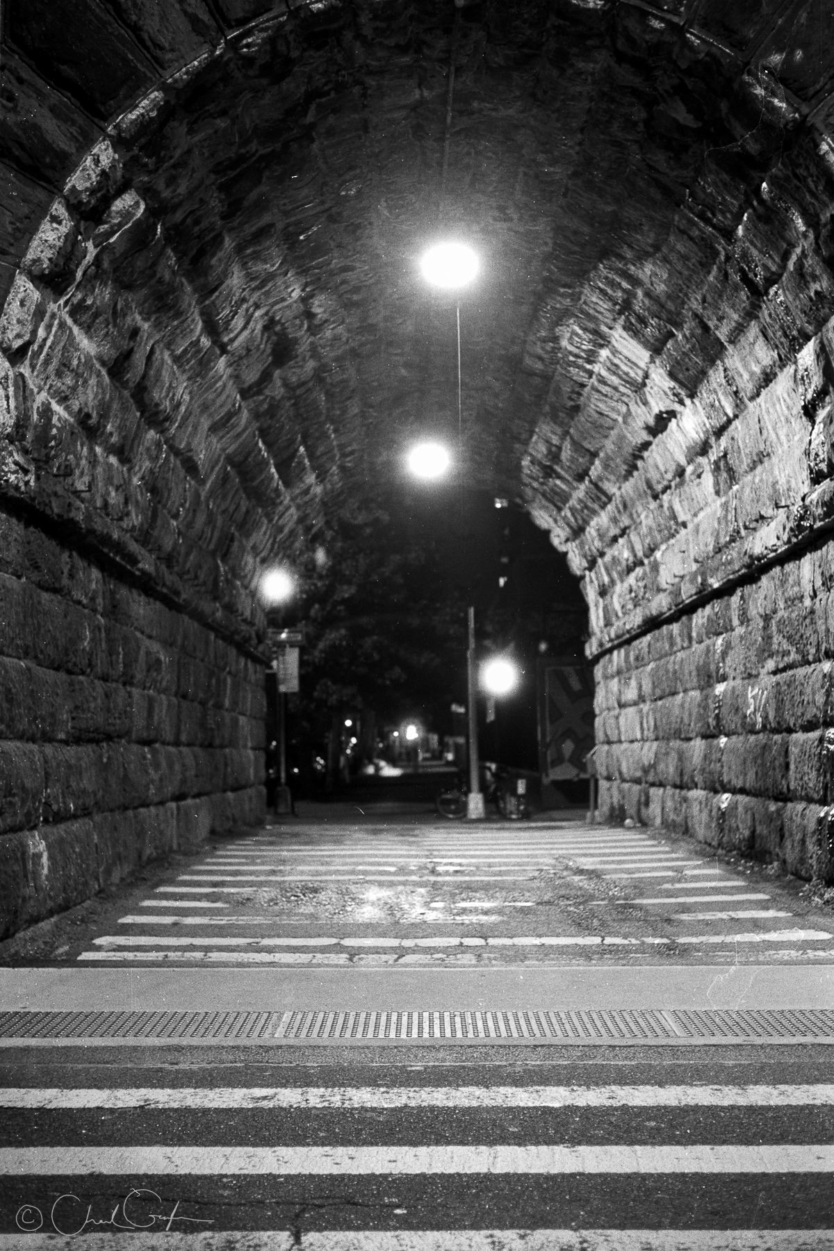 Park Avenue Tunnel at Night (Image by Chad Gayle)