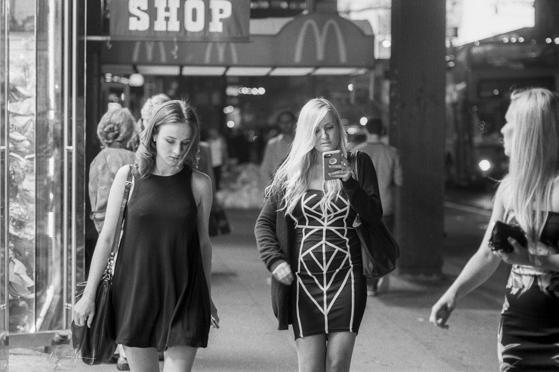 Girls Night Out, 8th Avenue by Chad Gayle (Image)