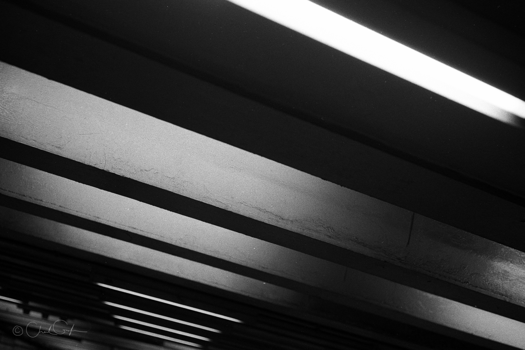 34th Street Subway Tunnel Abstract by Chad Gayle (Image)