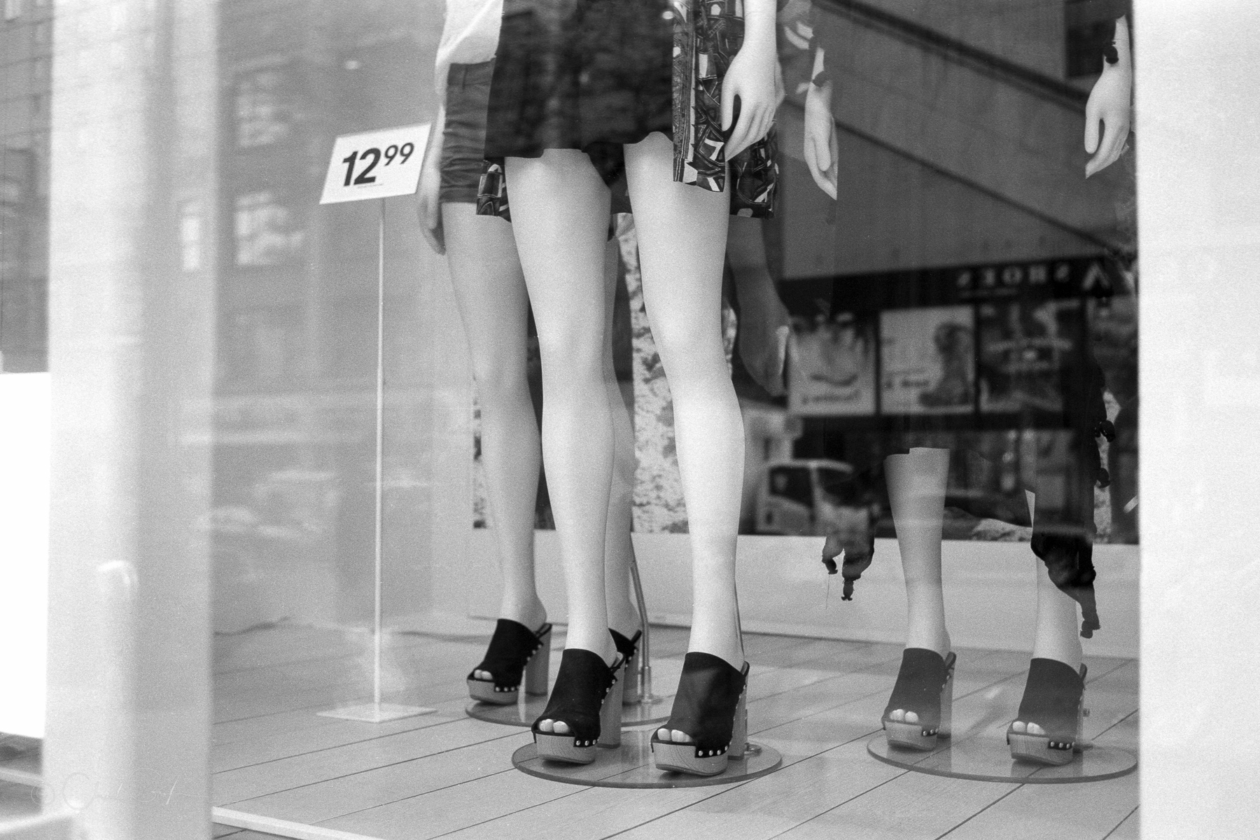 Mannequins Legs on 86th by Chad Gayle (Image)